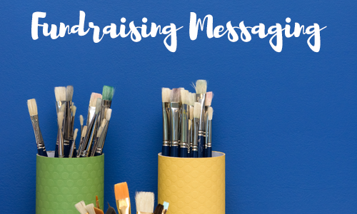 fundraising messaging workshop